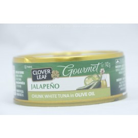 Clover Leaf Jalapeno Chunk White Tuna in Olive oil 142g