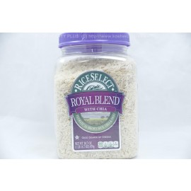 Royal Blend with Chia Texmati Light Brown Rice, Chia & Orzo Non GMO
