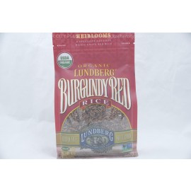Lundberg Burgundy Red Rice Whole Grain Organic  Gluten Free Non GMO 16oz