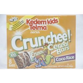 Kedem Kids Telma Crunchee Cereal Bars Coco Rice 8 Bars 168g