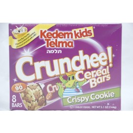Kedem Kids Telma Crunchee Cereal Bars Crispy Cookie 8 Bars 168g