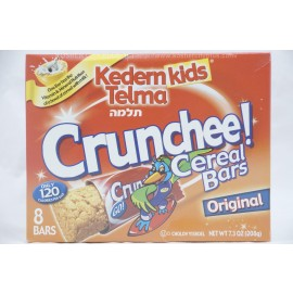 Kedem Kids Telma Crunchee Cereal Bars Original 8 Bars 168g