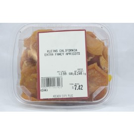 Kleins California Extra Fancy Apricots Kosher City Plus Package