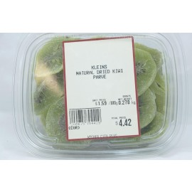 Kleins Natural Dried Kiwi Kosher City Plus Package