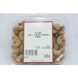 Kleins Honey Glazed Cashews  Kosher City Package