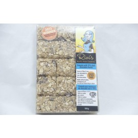 Rivi's Guilt Free Cookies Granola with 70% DArk Chocolate Chunks. Dairy and Nut Free. 180g