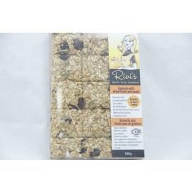 Rivi's Guilt Free Cookies Granola with Dried Fruit Seeds. Dairy and Nut Free. 180g