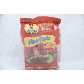 Sun Maid Natural California Raisins Mini-Packs 14 Cartons 196g