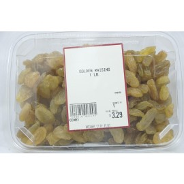 Golden Raisins Kosher City Plus Package 1lb