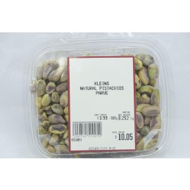 Kleins Natural Pistachios Kosher City Plus Package $3.99/100g