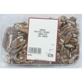 Targol Roasted Pecans Unsalted Kosher City Plus Package 300g