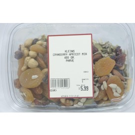 Kleins Caranberry Apricot Mix Kosher City Plus Package 400g