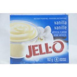 Jell-o Vanilla Instant Pudding 102g
