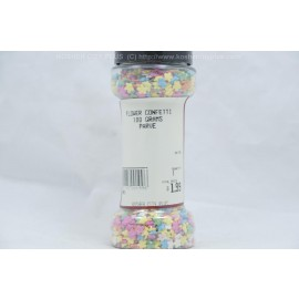 Flower Confetti Parve Kosher City Plus Package 100g