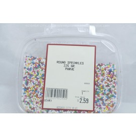 Round Sprinkles Parve Kosher City Plus Package 225g