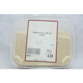 Granulated Garlic Kosher City Plus Package 250g