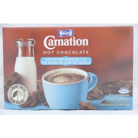 Nestle Carnation Light Hot Cocolate Mix 10 x 13g Packets
