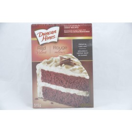 Duncan Hines Red Velvet Premium Cake Mix 515g