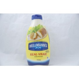 Hellmann's Real Mayonnaise Squeezable 750ml