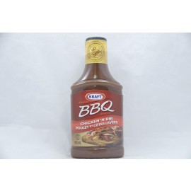 Kraft  Chicken 'N Rib BBQ Sauce 455ml