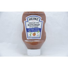Heinz Ketchup Style Sauce No Sugar Added 750ml