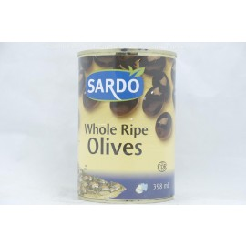 Sardo Whole Ripe Olives 398ml