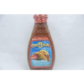 Ortega Taco Sauce Original Hot Thick and Smooth 226g