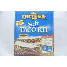 Ortega Soft Taco Kit 10 Tacos 430g