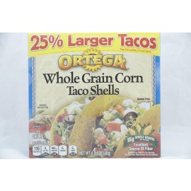 Ortega Whole Grain Corn Taco Shells 10 Taco Shells 140g