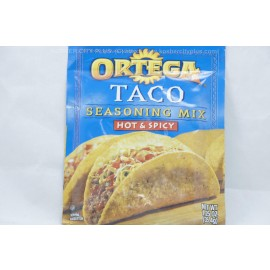 Ortega Seasoning Mix Hot & Spicy 35.4g