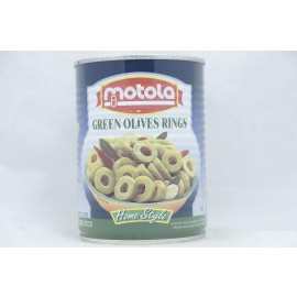 Motola Green Olives Rings Home Style 560g