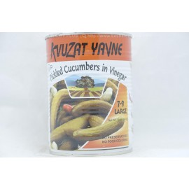 Kvuzat Yavne Pickled Cucumber in Vinegar  7-9 Large