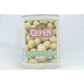 Gefen Green Olives Manzanilo540g