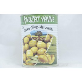 Kvuzat Yavne Green Olives Manzanillo Large 540g