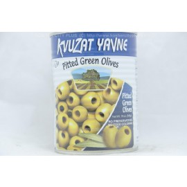 Kvuzat Yavne Pitted Green Olives