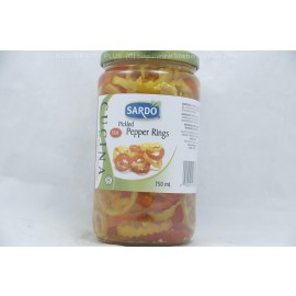 Sardo Hot Pickled Pepper Rings