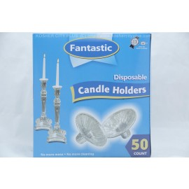 Fantastic 50 Disposable Candle Holders