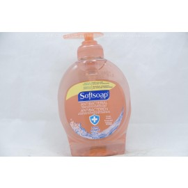 Softsoap Crisp Clean Antibacterial Benzalkonium Chloride Liquid Hand Soap with Moisturizers Pump 225ml