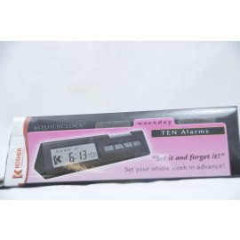 Kosher Innovations Kosherclock Ten Alarms Travel-Weekday-Shabbos Modes