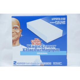 Mr Clean Magic Eraser Original 2 Pads 118x6.1x2.6cm each