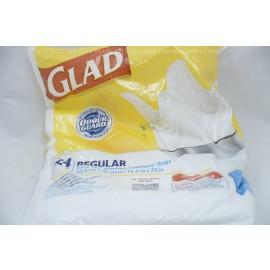 Glad 24 Bags Regular EasyTie Kitchen Catchers Bags.