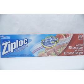 Ziploc Large Storage 20 Bags 26.8cmX 27.3cm