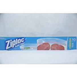 Ziploc Heavy Duty Freezer Extra Large 10 Bags 33cmX38.1cm
