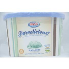 Parvelicious  Mint & Chips Frozen Dessert Parve  Lactose-Dairy Free