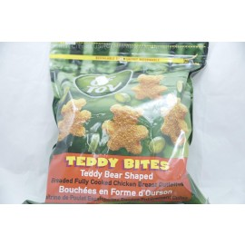 Teddy Bites Breaded Fully Cooked Chicken Breast Cutlettes