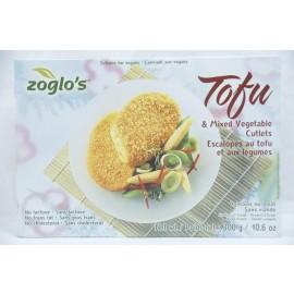 Zoglo's Tofu & Mixed Vegatables Cutlets No Lactose No Trans Fat No Cholesterol 300g