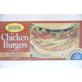 Shefa Chicken Burgers 8 Portions 896g