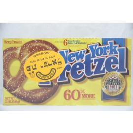 New York Pretzel 6 Hand Twisted Baked Soft Pretzels Pas Yisroel 588g