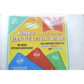 Mark-It International Pareve Kosher Flexible Cutting Board 15x12""