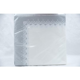 Lunch Napkins 40-2Ply Precious Silver